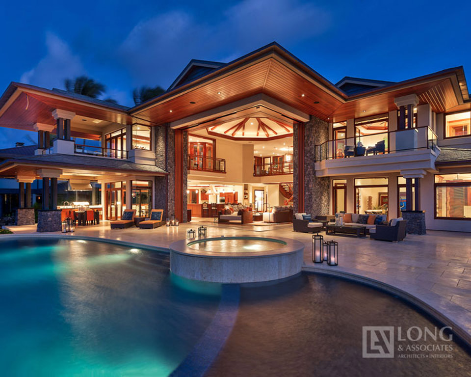 Attrayant 3 Kapalua   Maui Luxury Home Custom Kapalua Place Architect Jeffrey Long  Associates Interior Design Build