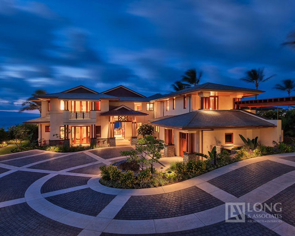 Sustainable Eco Ecoluxury Luxury Green Home House Architect Build Oahu Honolulu Hawaii Long & Associates Design Custom