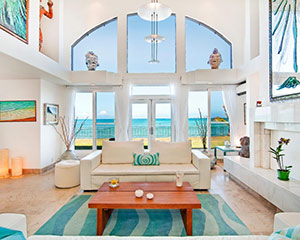 Mokulua Home - One of our earlier homes located in Kailua on the island of O'ahu.