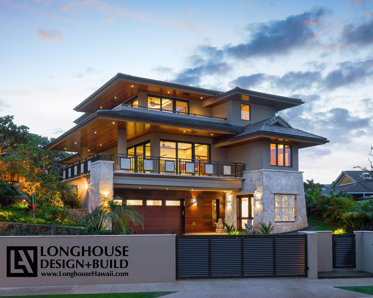 Modern Home Design: Hawaii Architects And Interior Design Longhouse Design