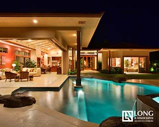 Hawaii Architects Longhouse Design+Build Jeff Long Associates AIA custom luxury home build interior designs BIA Renaissance Awards