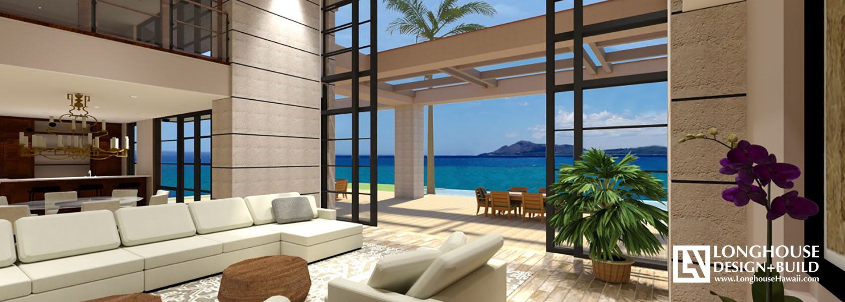 Mokulua Oceanfront - Hawaii Architects - Jeff Long