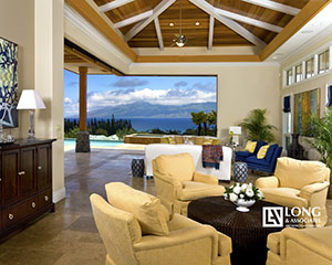 Pineapple Hill Residence - A Design-Build custom luxury home by Long and Associates in the prestigious golf community, Pineapple Hill Estates on Maui. Completed: 2009.