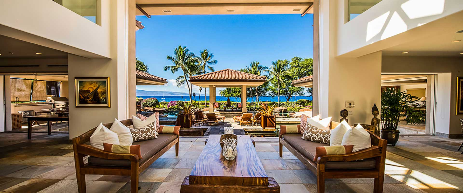 Kaanapali Maui Luxury Home Created By Long Associcates AIA